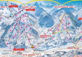Mitten in der 4-Berge-Skischaukel